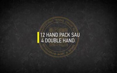12 HAND PAK SAU 4 DOUBLE HAND