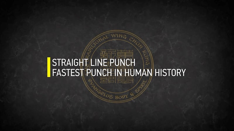 STRAIGHT LINE PUNCH HUMAN HISTORY