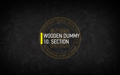 WOODEN DUMMY 10. SECTION