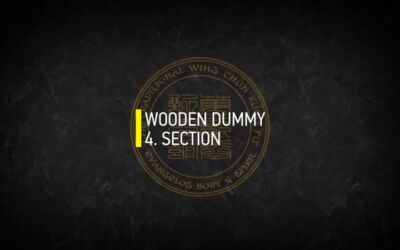 WOODEN DUMMY 4.SECTION