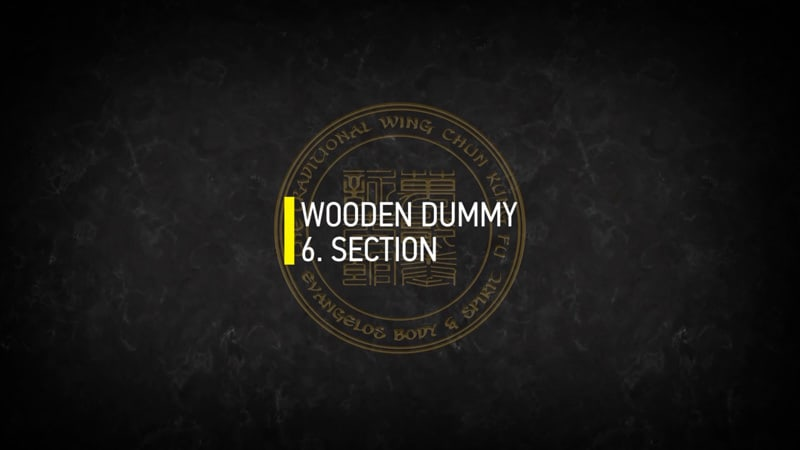 WOODEN DUMMY 6.SECTION