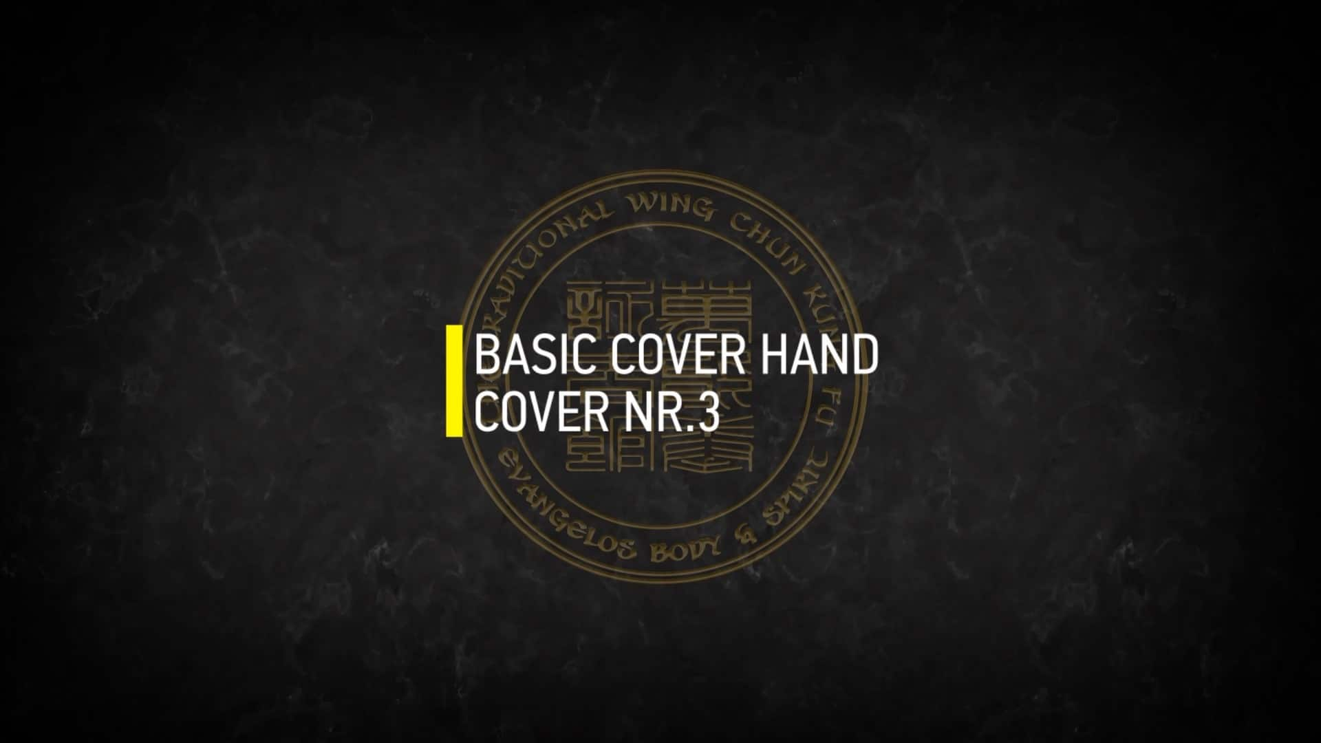 BASIC COVER HAND COVER NR.3